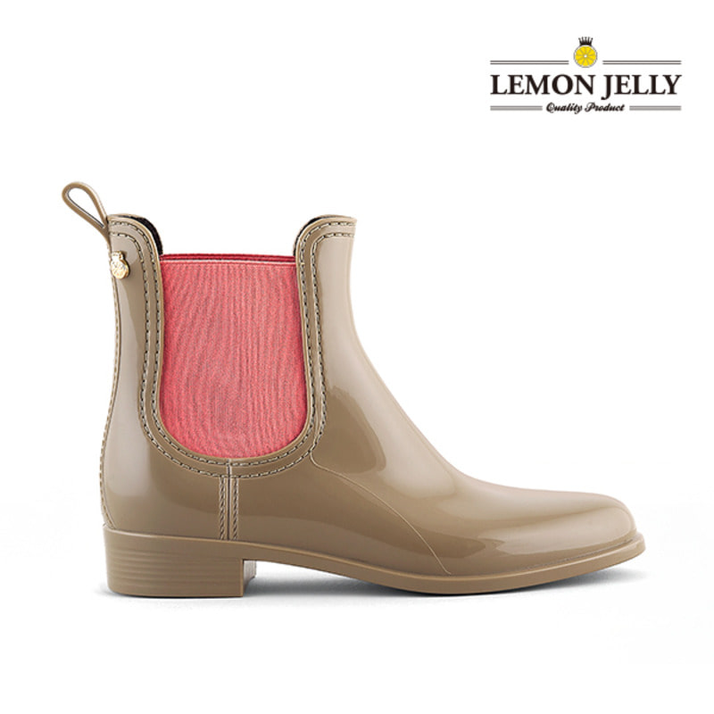 (LEMON JELLY) PISA_BEIGE/PINK