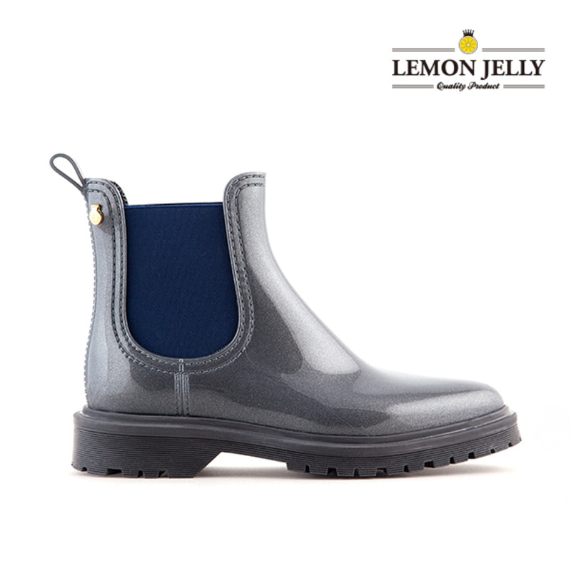 (LEMON JELLY) BLOCK_GREY/NAVY
