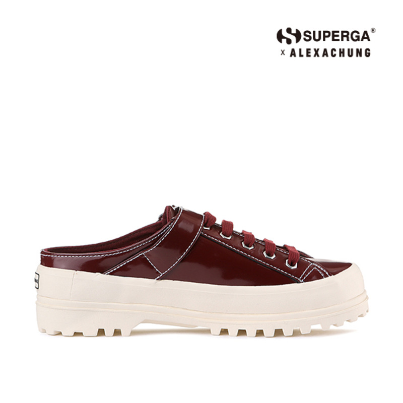 (SUPERGA) 2279-ALPINAPATENTLEAW_BURGUNDY