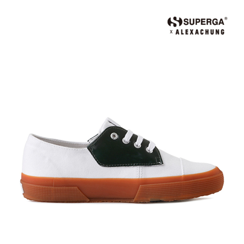 (SUPERGA) 2767-COTLEABRUSHW_GREEN