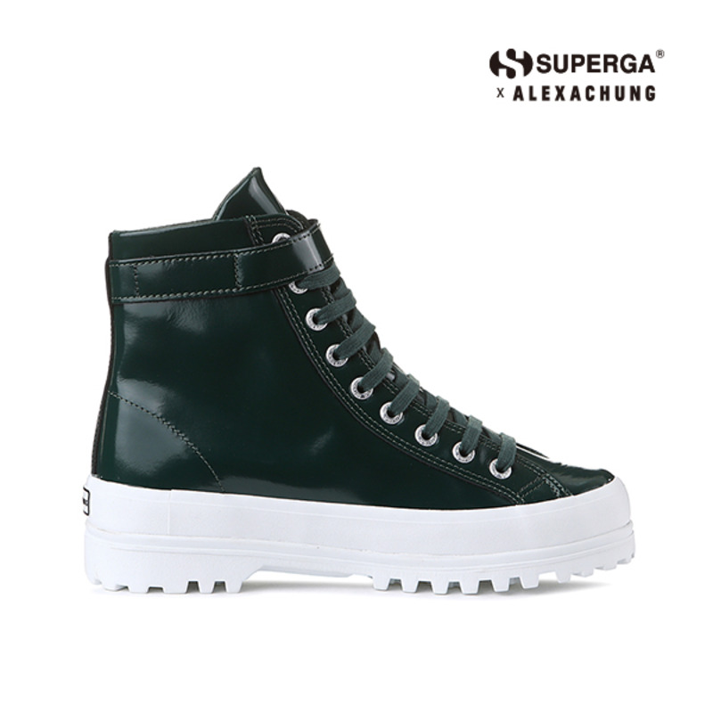 (SUPERGA) 2244-ALPINALEAPATENTW_GREEN
